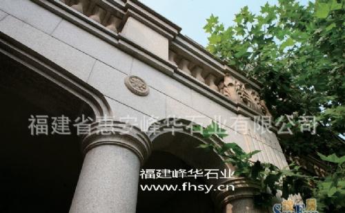 求购福建欧式石材罗马柱干挂装饰------别墅石材幕墙