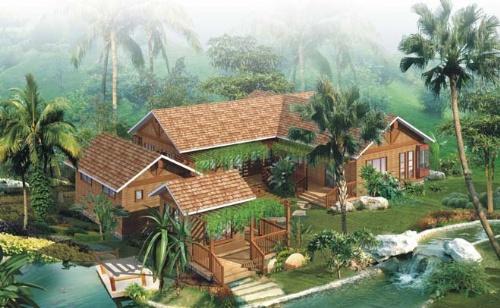 钢结构农家乐设计图展示