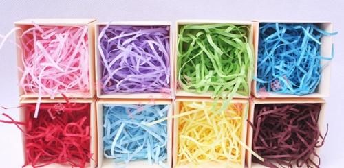 彩色纸丝 纸条填充物