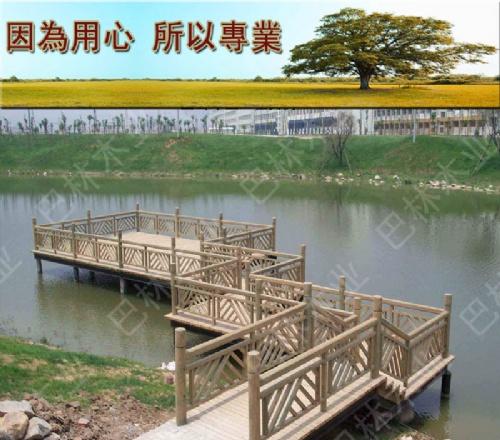 求购浙江防腐木栏杆 户外栏杆