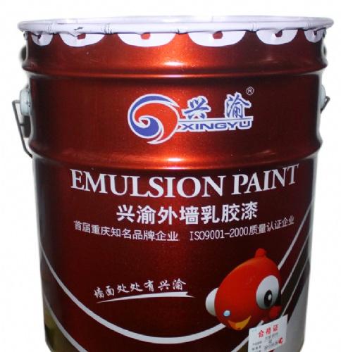 重庆批发无毒 环保 外墙涂料外墙乳胶漆