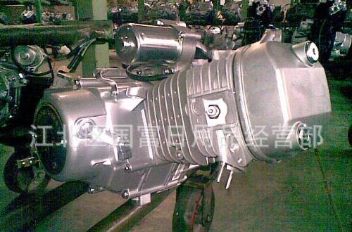 专业生产批发台湾宝岛弯梁与直梁摩托车120型发动机