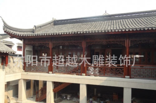 中式建筑木结构