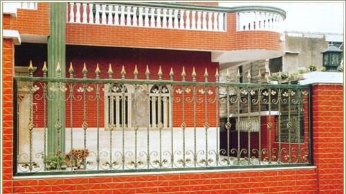 农村院墙大门效果图 别墅院墙大门效果图 院墙大门设计效果图