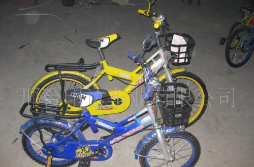 儿童自行车结构设计图展示