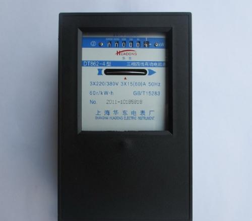 浙江三相四线机械式电度表dt862-4