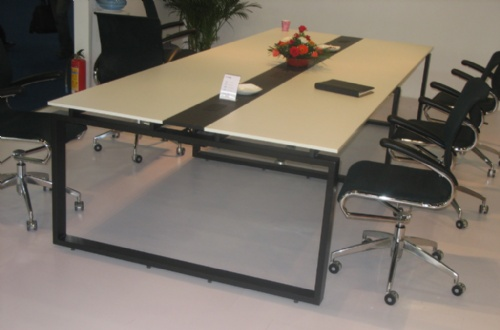 钢木结构会议桌办公家具