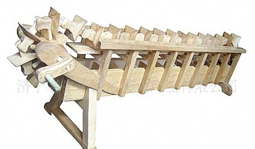 龙骨水车结构图