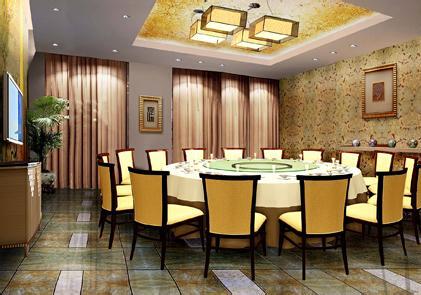 民族风餐厅设计-中餐厅设计装修