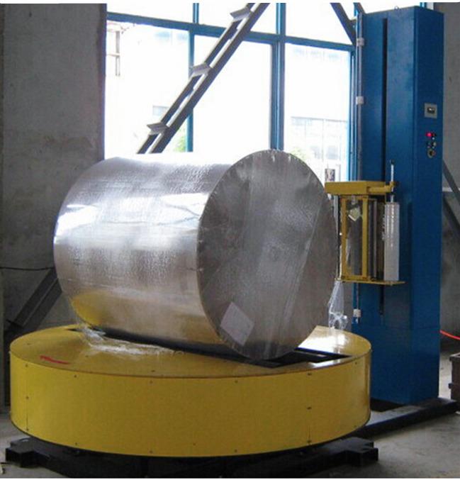 广州越秀拉伸膜缠绕包装机托盘PE裹包膜捆包流水线