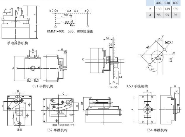此类电源转换系统是集开关与逻辑控制于一体,无需外加控制器,真正实现机电一体化的自动转换开关。此类电源切换系统产品的触头系统采用单刀双掷设计,为统一设计制造,体积小,结构简单。该产品不具备电流保护功能,属于PC级转换开关电器产品。该类产品一般转换时间比较小,开关切换驱动采用电机驱动,切换平稳可靠,操作器电机驱动只在开关切换瞬间有电流通过,稳态时无需提供工作电流,节能显著。产品无温升发热、触点粘结、线圈烧毁现象。开关带有机电联锁装置,可实现自投自复、自投不自复、失压、欠压、断相保护、手动-自动转换、延时控制