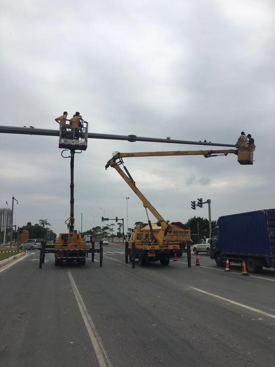 番禺区吊斗车出租钢结构厂房安装维修