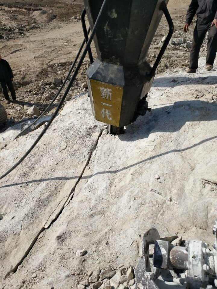 广安岩石液压分裂机厂家供应