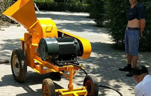 大型菇木粉碎机安庆移动式柴油机